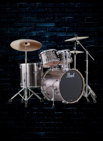 Pearl EXX725S/C Export EXX 5-Piece Drum Set - Smokey Chrome