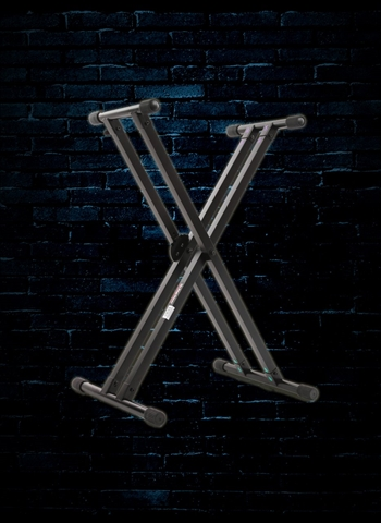 On Stage KS8291 Lok-Tight Pro Double-X ERGO-LOK Keyboard Stand