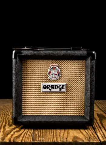 "Orange PPC108 - 20 Watt 1x8"" Guitar Cabinet - Black"