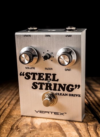 Vertex Steel String Clean Drive Pedal