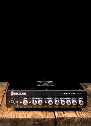 Genzler Magellan 800 - 800 Watt Bass Head - Black