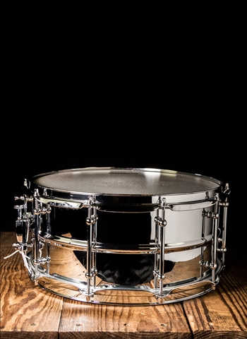 "Ludwig LW6514SL - 6.5""x14"" Supralite Snare - Steel"