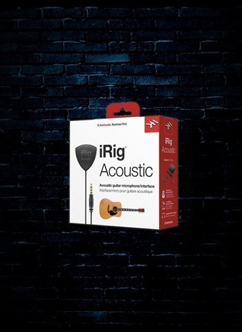 IK Multimedia iRig Acoustic Mobile Guitar Microphone/Interface