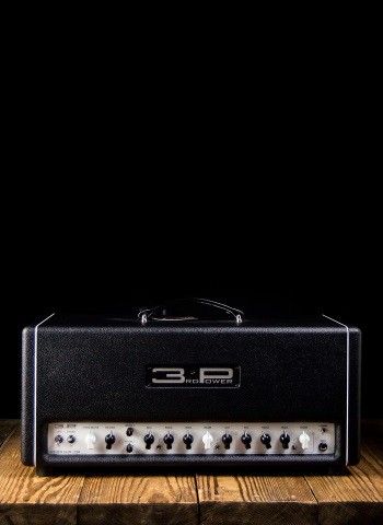 3rd Power Citizen Gain CSR - 40 Watt Guitar Head - Black