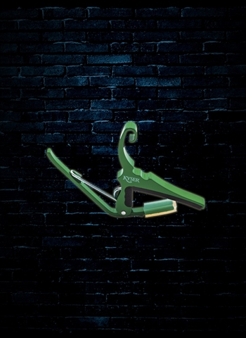Kyser KGEG - 6-String Acoustic Quick-Change Capo - Emerald Green