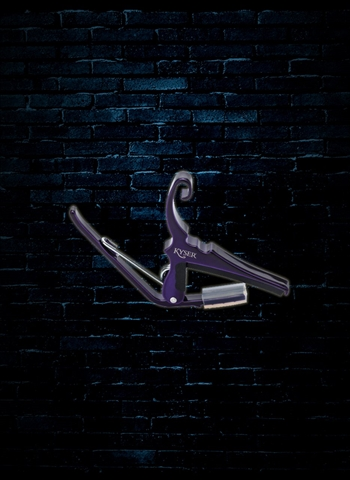 Kyser KG6P - 6-String Acoustic Quick-Change Capo - Deep Purple