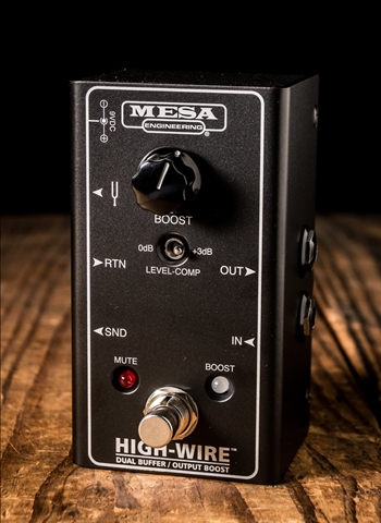 Mesa Boogie HIGH-WIRE Dual Buffer Pedal