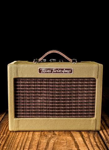 Fender Mini 57 1 Watt 2x2 Quot Guitar Amp Tweed