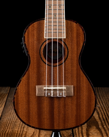 Amahi UK220 Classic Mahogany Concert Ukelele with Electronics - Natural