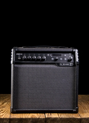 "Line 6 Spider V 30 - 30 Watt 1x8"" Guitar Combo - Black"