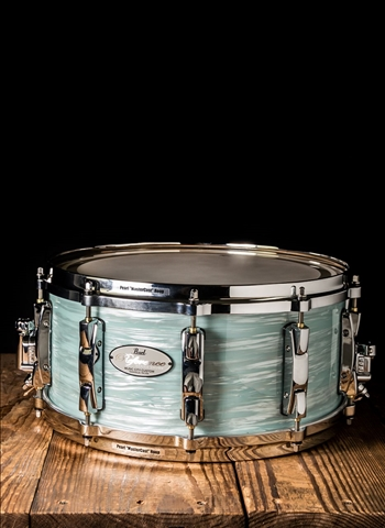 "Pearl RF1465S/C - 6.5""x14"" Reference Snare Drum - Ice Blue Oyster"