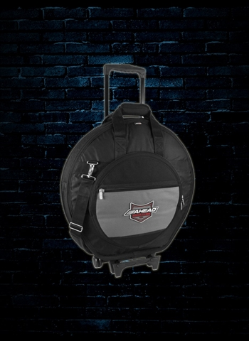 Ahead AA6024W - Deluxe Heavy Duty Cymbal Case with Wheels