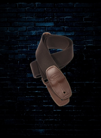 "Reunion Blues RBS-34 - 2"" Merino Wool Guitar Strap - Brown"