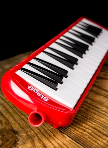 Stagg MELOSTA32 RD - 32-Key Melodica - Red