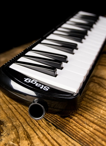 Stagg MELOSTA32 BK - 32-Key Melodica - Black