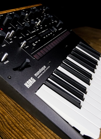 Korg monologue 25-Key Monophonic Analogue Synthesizer - Black