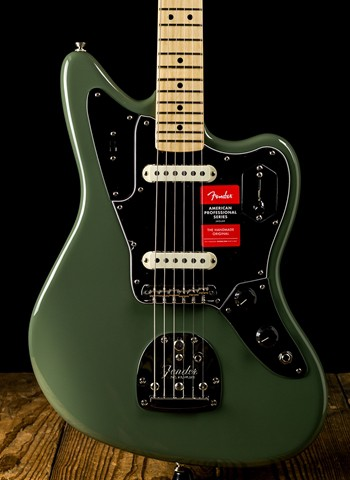 Fender American Professional Jaguar - Antique Olive