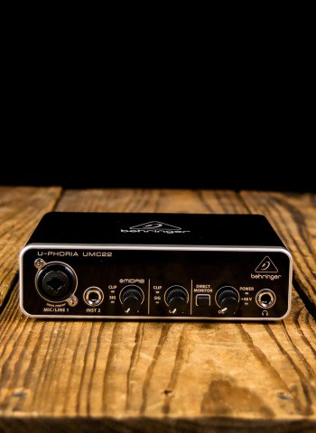 Behringer U-PHORIA UMC22 - 2x2 USB Audio Interface
