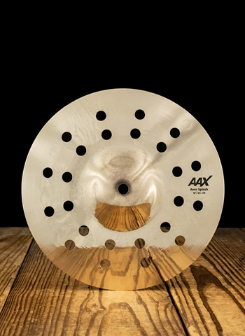 "Sabian 210XACB - 10"" AAX Aero Splash - Brilliant"