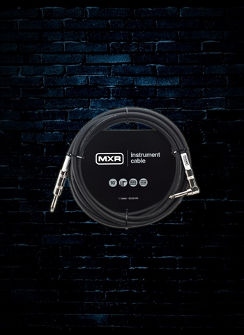 MXR DCIS10R - 10' Standard Series Straight to Right-Angle Instrument Cable
