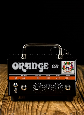Orange Micro Dark - 20 Watt Guitar Head - Black