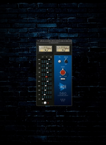 Waves API 560 Equalizer Plug-In (Download)