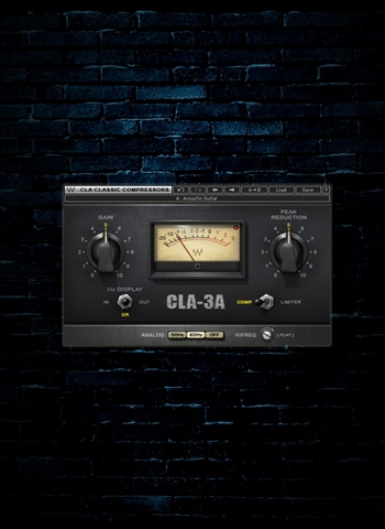 Waves CLA-3A Compressor/Limiter Plug-In (Download)