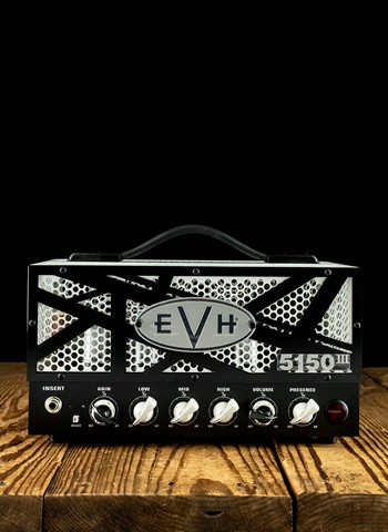 EVH 5150III - 15 Watt LBXII Guitar Head - Black