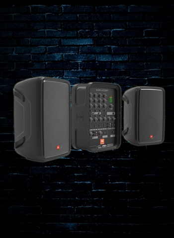 "JBL EON208P Packaged 8"" 2-Way PA with Powered 8-Channel Mixer and Bluetooth"