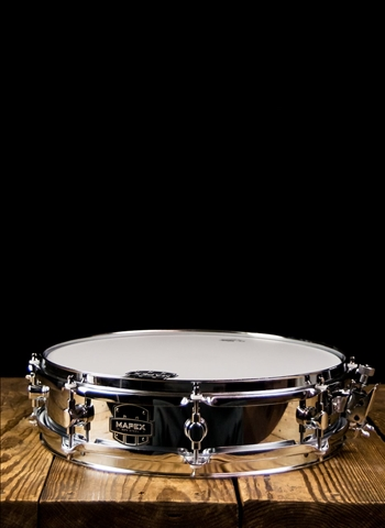 "Mapex MPST4351 - 3.5""x14"" MPX Steel Piccolo Steel Snare Drum"