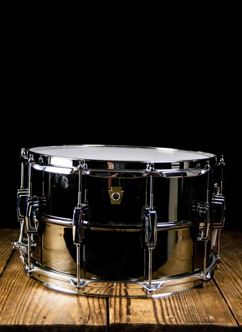 "Ludwig LB408 - 8""x14"" Black Beauty Snare Drum"