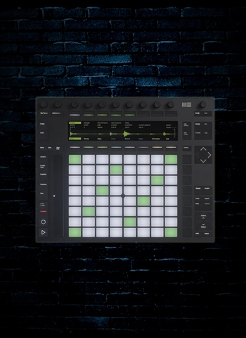 Ableton Push2 Instrument Controller