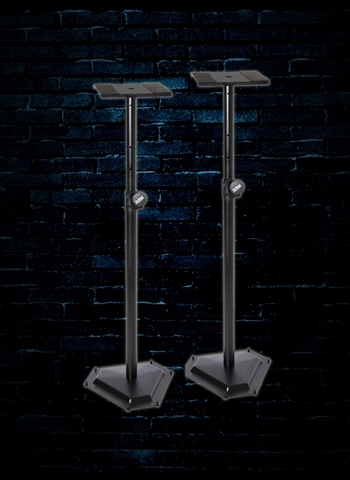 On-Stage SMS6600-P Hex-Base Monitor Stands (Pair)