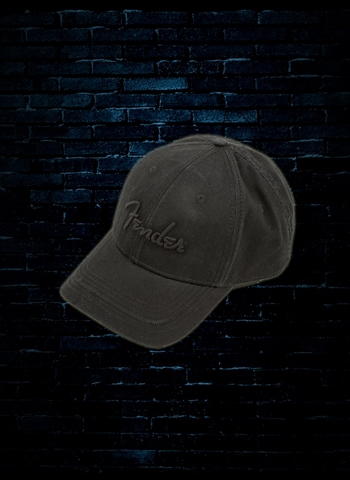 Fender Blackout Logo Hat