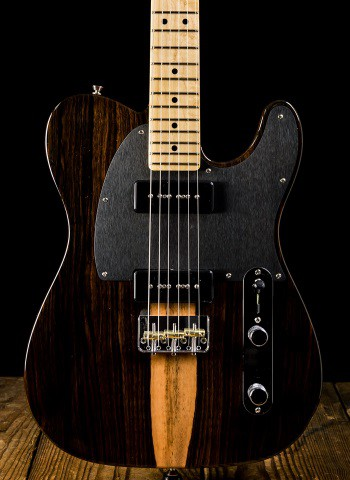 Fender Limited Edition Malaysian Blackwood Telecaster - Natural