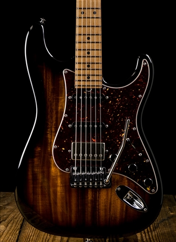 Suhr Classic Custom Figured Koa/Roasted Alder - 2-Tone Tobacco Burst