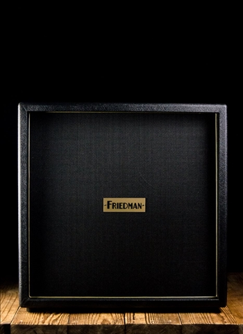 "Friedman Brown Eye 412 - 4x12"" Guitar Cabinet - Black"
