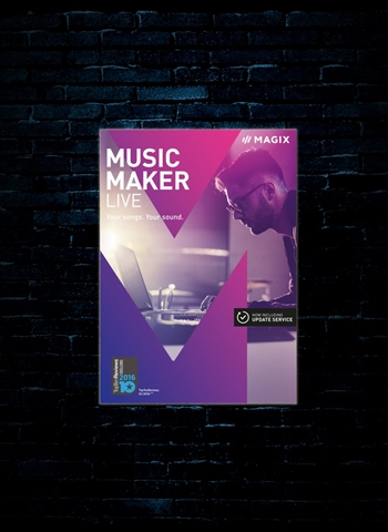 MAGIX Music Maker Live Edition Software (Download)