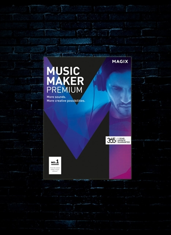 MAGIX Music Maker Premium Edition Software (Download)