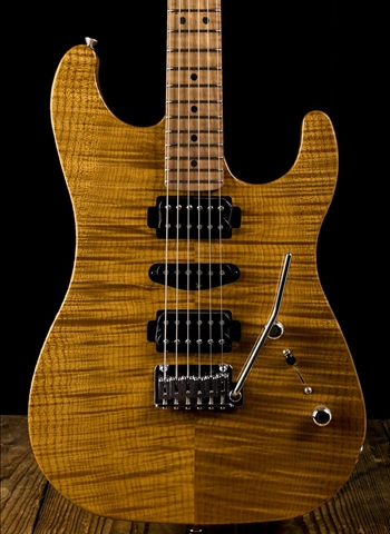 LsL XT3-DX Roasted Flame Maple/Mahogany - Natural