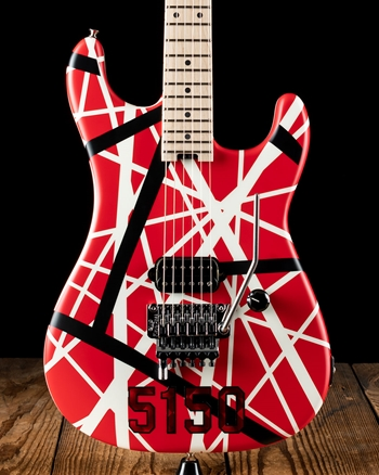 EVH Striped Series 5150 - Red