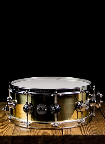 "Drum Workshop DRVN5514SPC - 5.5""x14"" Collector's Series Brass Snare Drum"