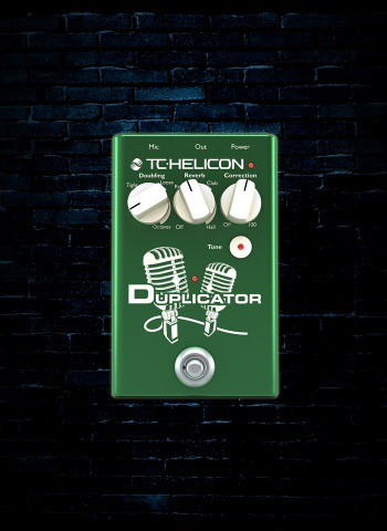 TC-Helion Duplicator Vocal Pedal