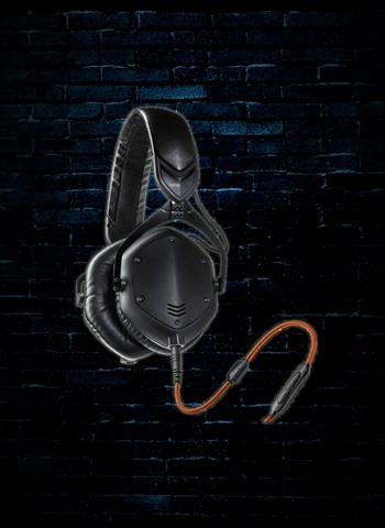 V-Moda Crossfade M-100 Over-Ear Headphones - Matte Black Metal
