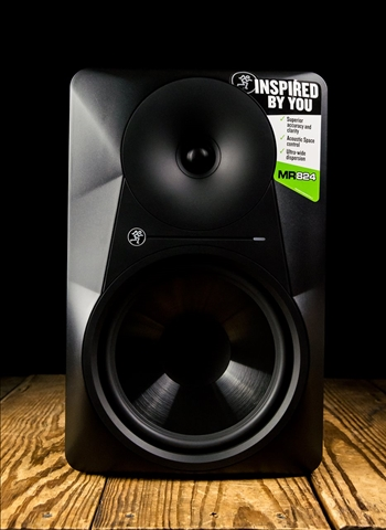 "Mackie MR824 - 85 Watt 1x8"" Powered Studio Monitor - Black"