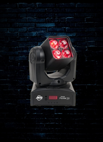 American DJ Inno Pocket Z4 - LED Moving Head Zoom Wash Light