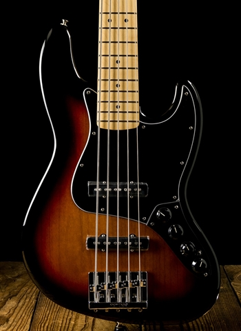 Fender Deluxe Active Jazz Bass V - 3-Color Sunburst