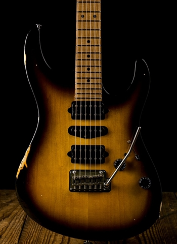 Suhr Modern Antique Custom Maple/Basswood - 2 Tone Tobacco Burst