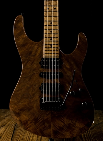 Suhr Modern Custom Figured Walnut/Swamp Ash - Natural