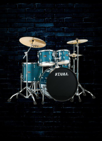 Tama IP52NC Imperialstar Series 5-Piece Drum Set - Hairline Blue